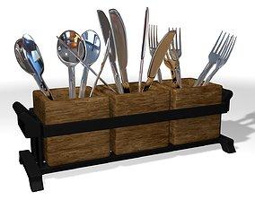 3D model Cutlery tray