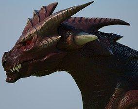3D asset Dragon