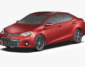 3D model 2014 Toyota Corolla