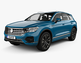 3D Volkswagen Touareg Elegance 2018