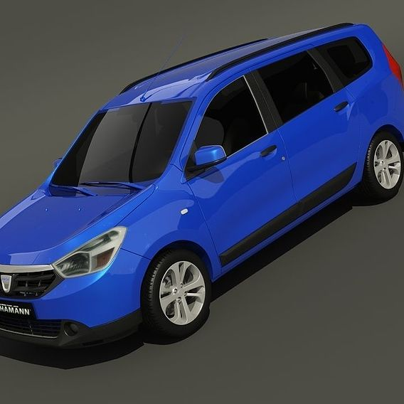 Dacia Lodgy 3d models.
