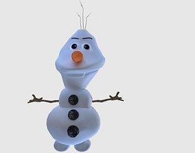 3D model Olaf from frozen