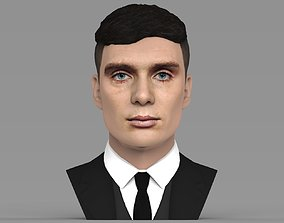 Tommy Shelby from Peaky Blinders bust for full color 3D