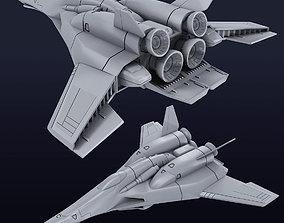 VF-X-7 Ghost Valkyrie 3D model