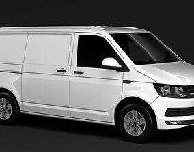 Volkswagen Transporter Van L1H1 Highline T6 2018 3D