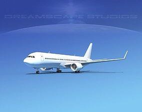 3D model Boeing 767-300 Unmarked 3
