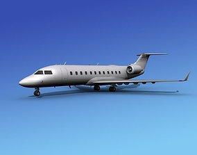 Canadair CRJ100 Corporate 1 3D