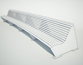3D 2800mm Double Bench