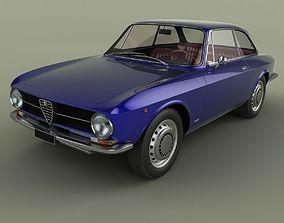 3D model Alfa Romeo Giulia Sprint 1600 GT Junior