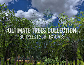 Ultimate Trees Pack 3D model game-ready