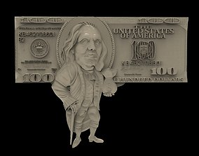 US Dollar 3d stl models for artcam and aspire Programmes