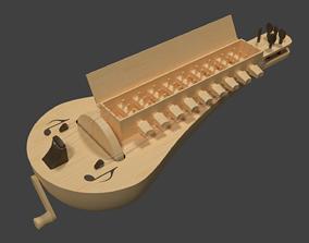Hurdy gurdy 3D model