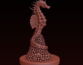 Seahorse figurine 3D print model