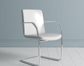 3D model Orangebox Calder Meeting Visitor Chair