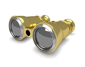 Opera Gold Glasses 3D