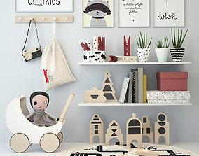 3D book Nursery Decorating 2