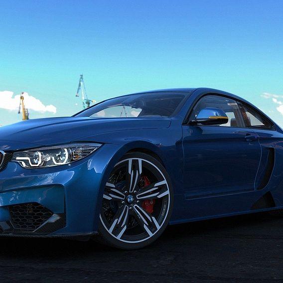 BMW M4 CSL Concept  Version by.Pumazloi