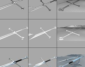 Anduril Narsil 3D model