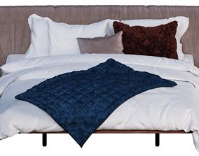 Marlon Bed by Cattelan Italia 3D model
