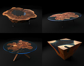 Epoxy Resin Coffee Table 2 3D