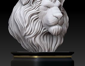 3D printable model Lion-bust