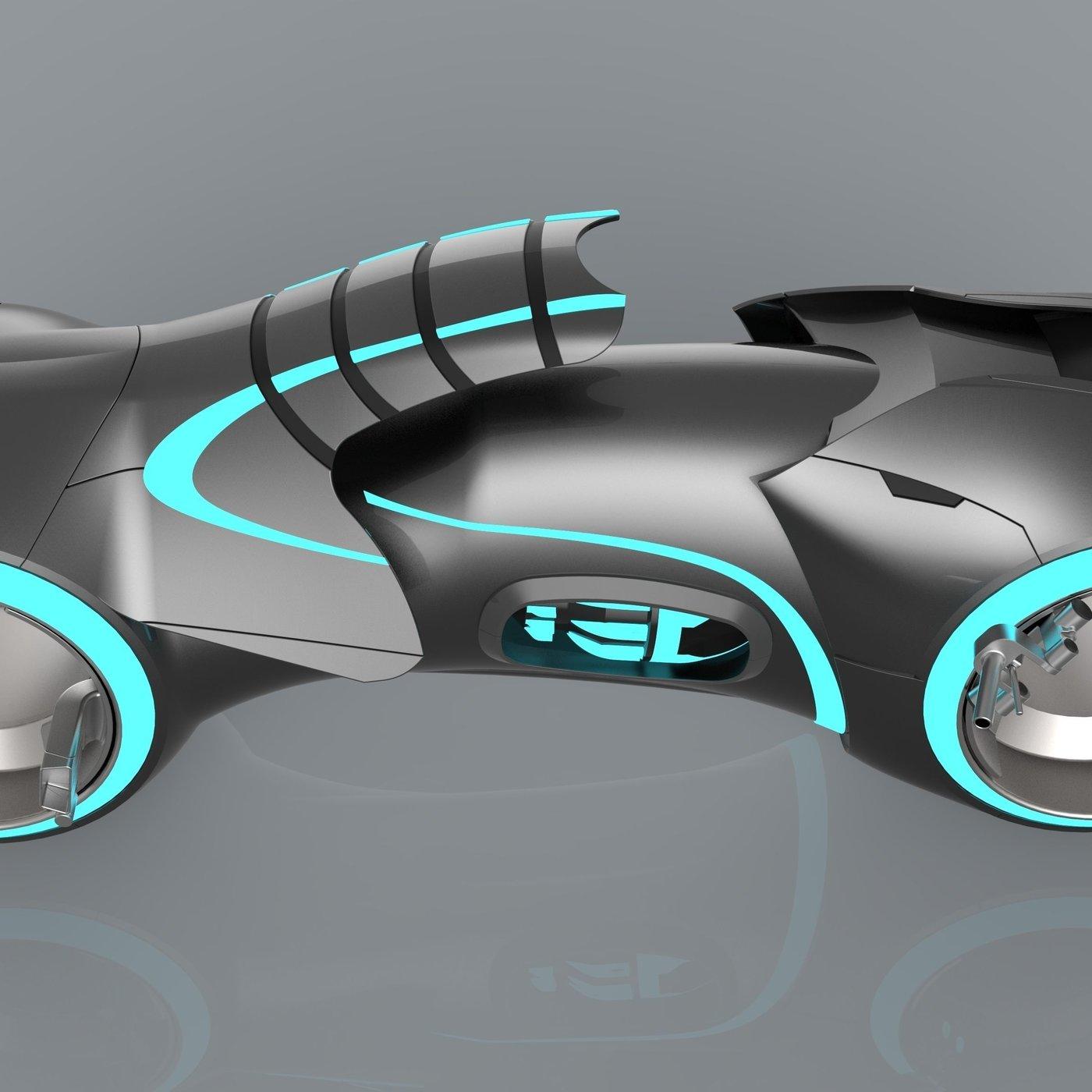 Tron Legacy Lightcycle