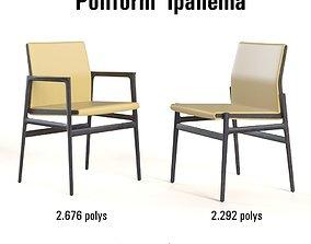 3D model Poliform Ipanema chair