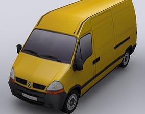 3D asset Renault Master