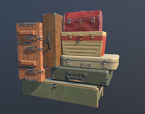 3D model Opening Boxes Animated PBR