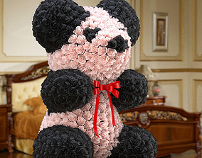 3D model Rose Bear