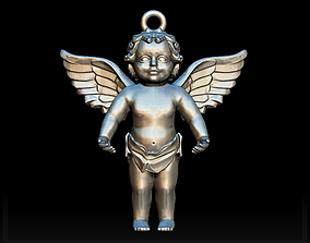 Angel charm 3D printable model