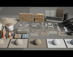 3D model Warehouse Photoscans - Unreal Engine 4