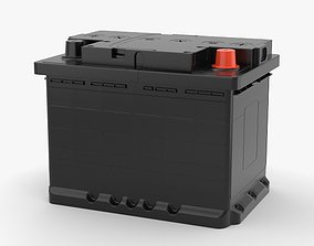 Car Battery 3D model auto