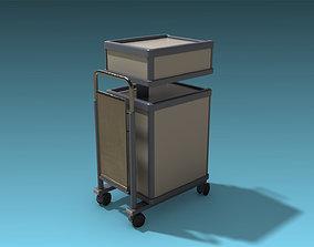 3D asset Medical Cart