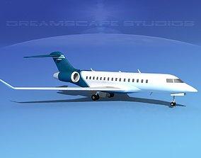 Global Express 8000 V07 3D model