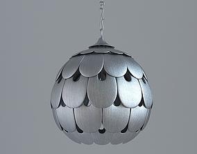 3D model Contemporary Ceiling Light Fixture
