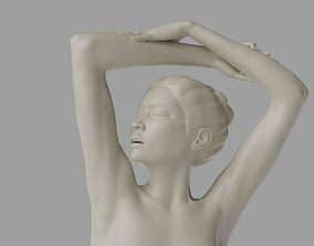 Female figure 3D printable model miniature