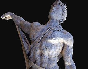 3D Greco-Roman Renaissance Statue Sample