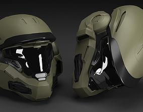 Helmet 3D model VR / AR ready