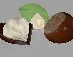 Hazelnut Nuts 3D