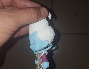 3D print model Chibi Goku Black Rose