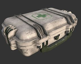 healthcare 3D model realtime First Aid Kit