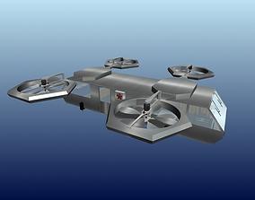 3D Flying camper