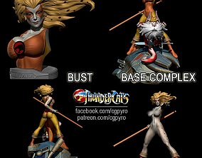 Thundercats Cheetara STL for 3D printing Fanart Term 25 1