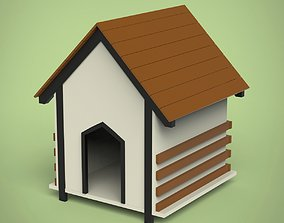 Dog house outdoor 3D