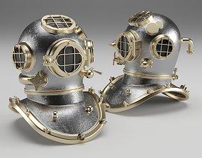 3D Diver Helmet