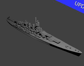 3D print model Italian Littorio Class Battleship