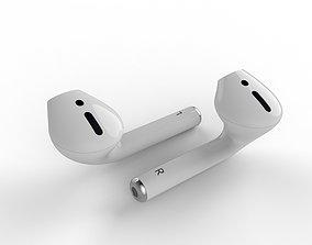 3D Apple AirPods headphones