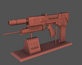 Plasma Rifle T-800 for 3d printing rifle