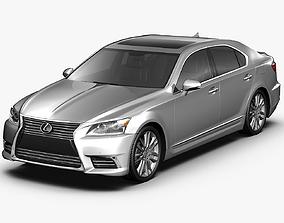 2013 Lexus LS460 3D